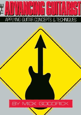 The Advancing Guitarist by Mick Goodrick book cover